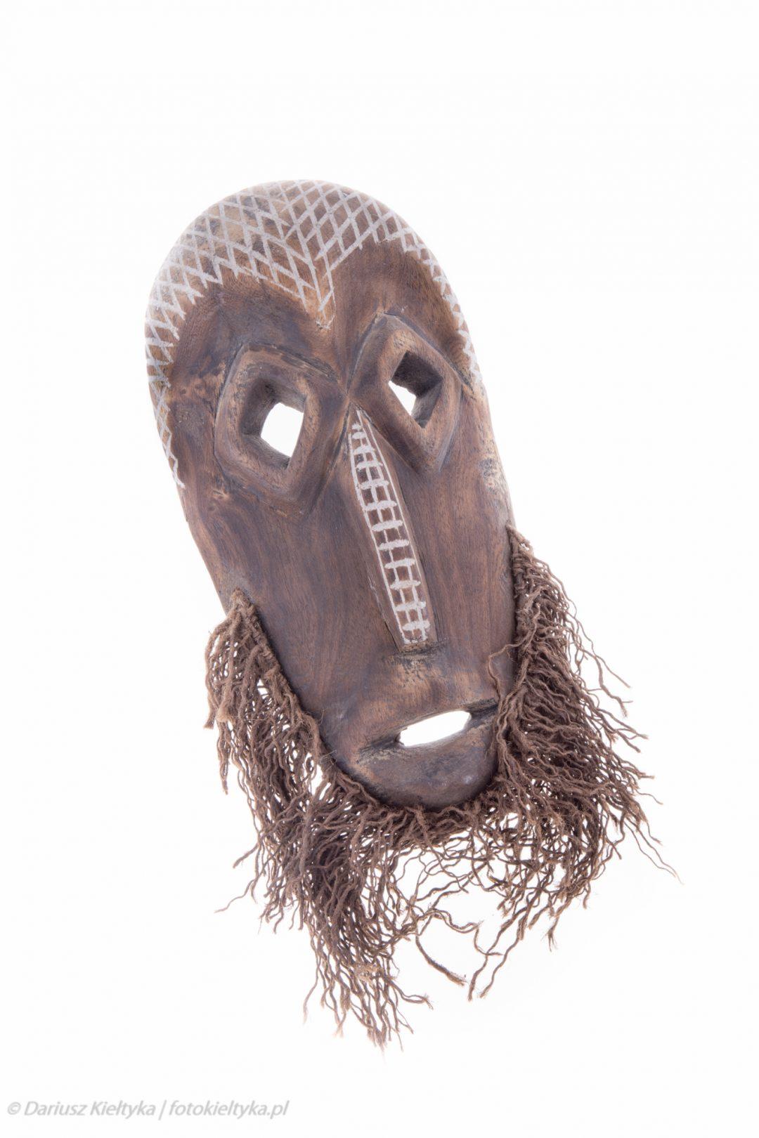 fotografia studyjna zdjęcie foto maska afrykańska