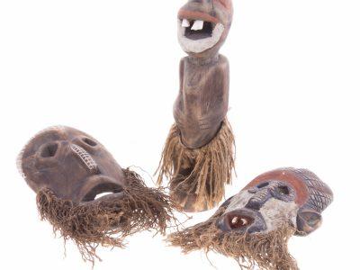 160Afrykańskie maski <br><i> African masks</i>