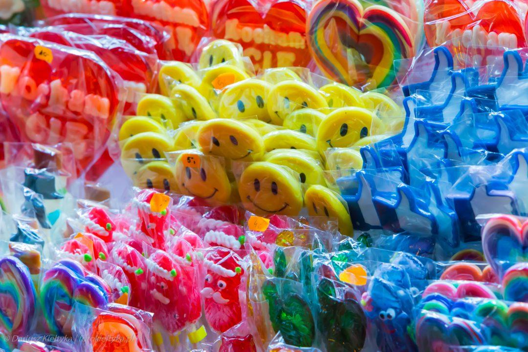 fotografia zdjęcie foto jedzenie lizaki różne kolory