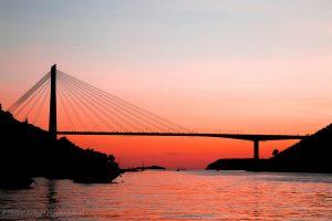 fotografia zdjęcie foto krajobraz most morze widok