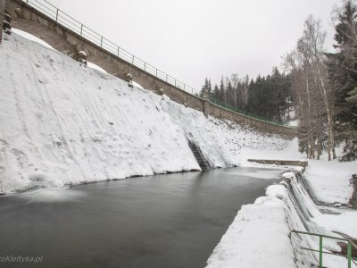 1465Zapora na Łomnicy, Karpacz<br><i>Dam on the Łomnica river, Karpacz</i>