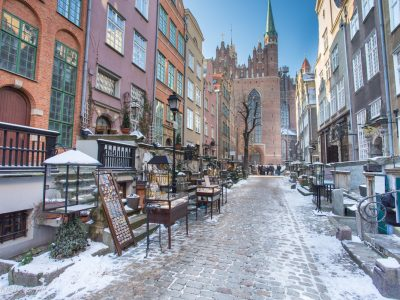 1801Zimowy Gdańsk <br><i> Gdansk in the winter</i>