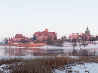 1877Zamek Malbork<br><i> Malbork Castle</i>